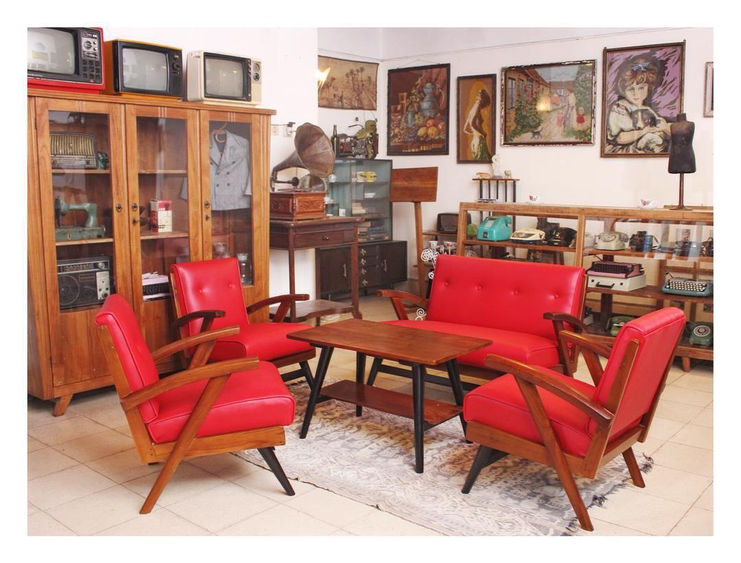 Ruang Tamu Vintage Klasik Untuk Desain Minimalis