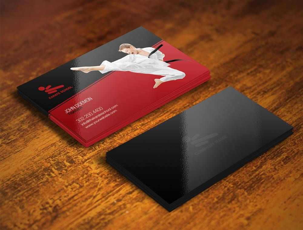 Martial Arts Business Cards Design. Call 305 204 1804 | Business ...