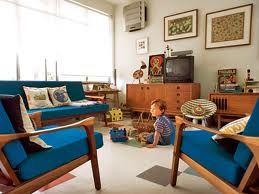 Retro Stil Wohnzimmer Livingroom