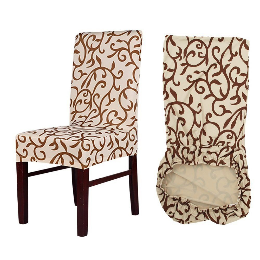Best Meijuner Flower Printing Removable Chair Cover Big Elastic 400 x 300