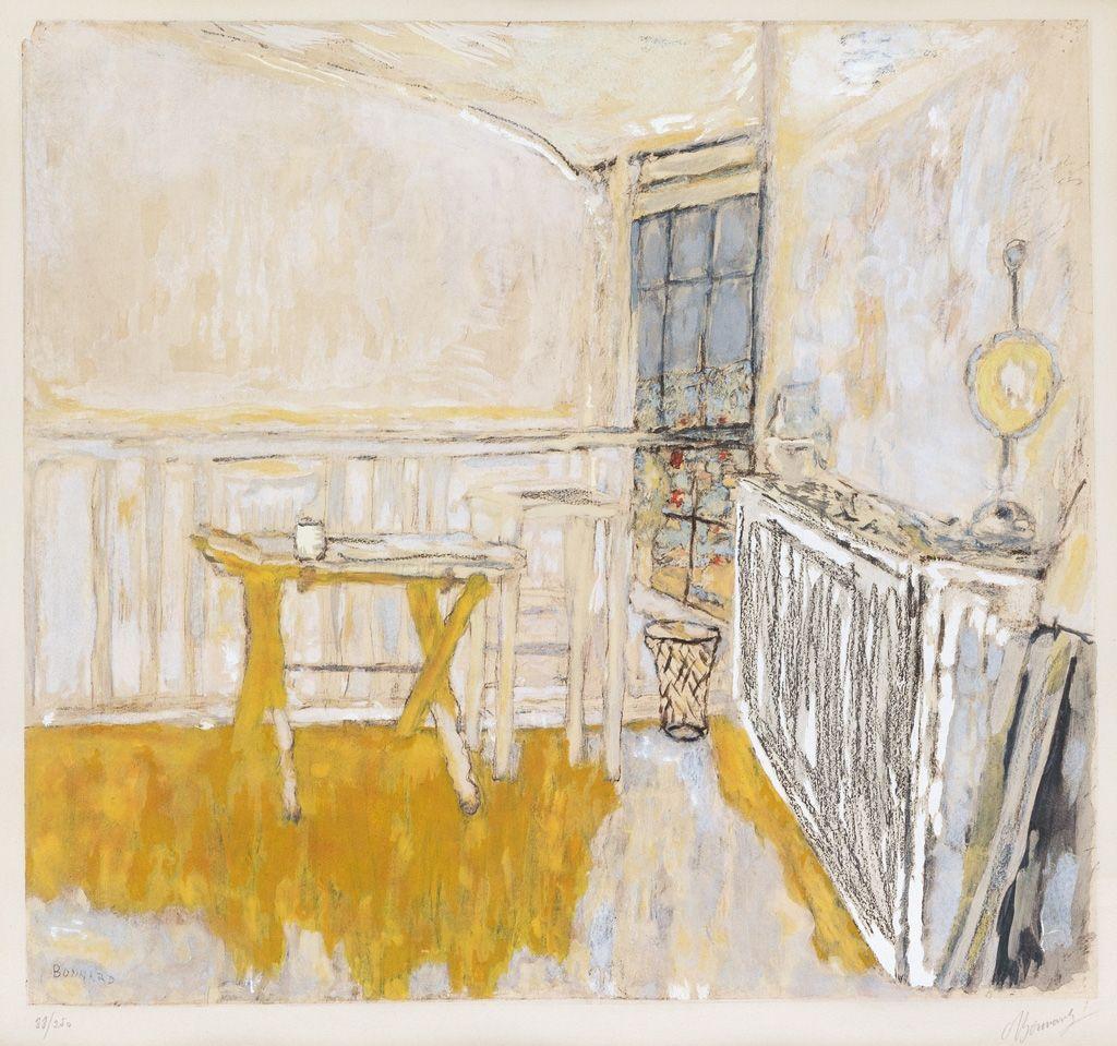 Pierre Bonnard (French, 1867-1947), Interieur (L\'Atelier d\'artiste ...