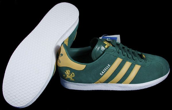 detailed look 789f7 a9c91 Adidas Notre Dame Gazelle - Super Rare! New in Box! Size Mens 4.5 Womens 6