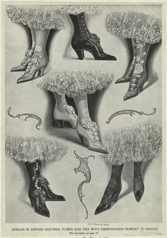 Image result for Victorian shoes fashion plates
