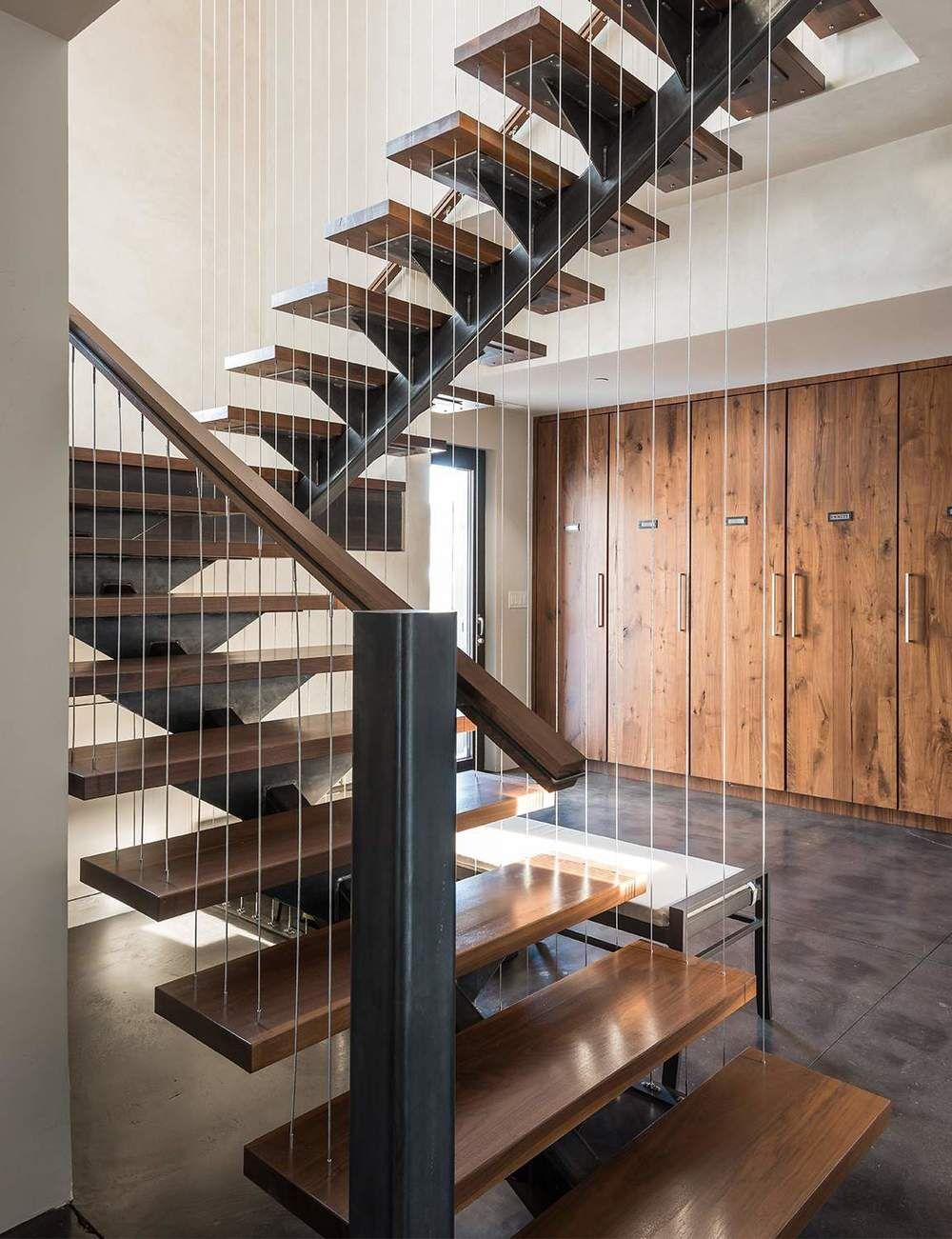 Modern Montana Mountain Home Staircases Montana And Modern