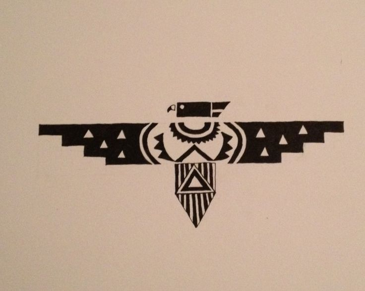 Native american thunderbird google leit tat inspo for Native design