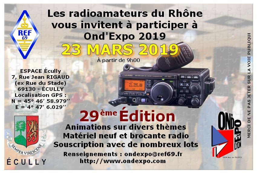 Ond Expo 2019 Ond Expo 2019 Localisation Gps Rhone Et Public