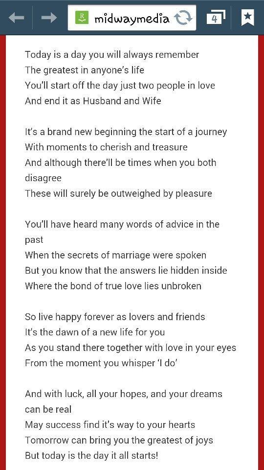 Wedding Quotes Non Religious Readings Church
