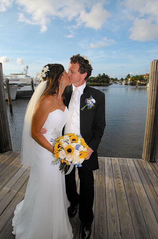 Lighthouse Point Yacht Club Dana and Chris #Wedding