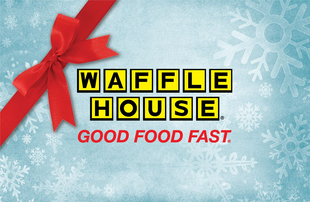Waffle House Gift Card Is Here House Gifts Holiday Gift Card Gift Card