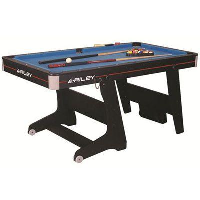 Riley Vertical Folding Pool Table 5 Foot Folding Pool Table Pool Table Table