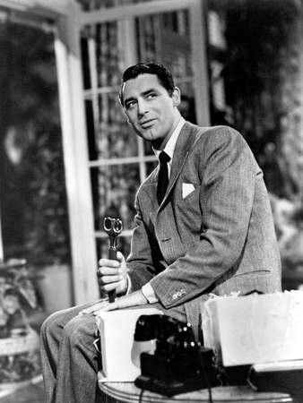 """Cary Grant as C. K. Dexter Haven in """"The Philadelphia Story"""" was not nominated."""