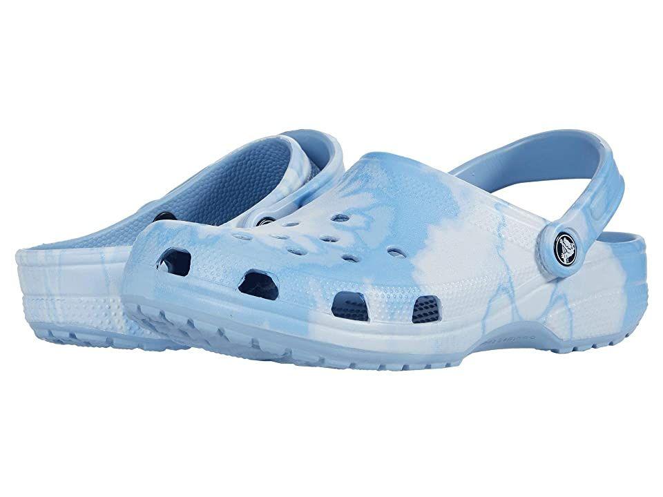 Crocs Classic Tie-Dye Graphic Clog in