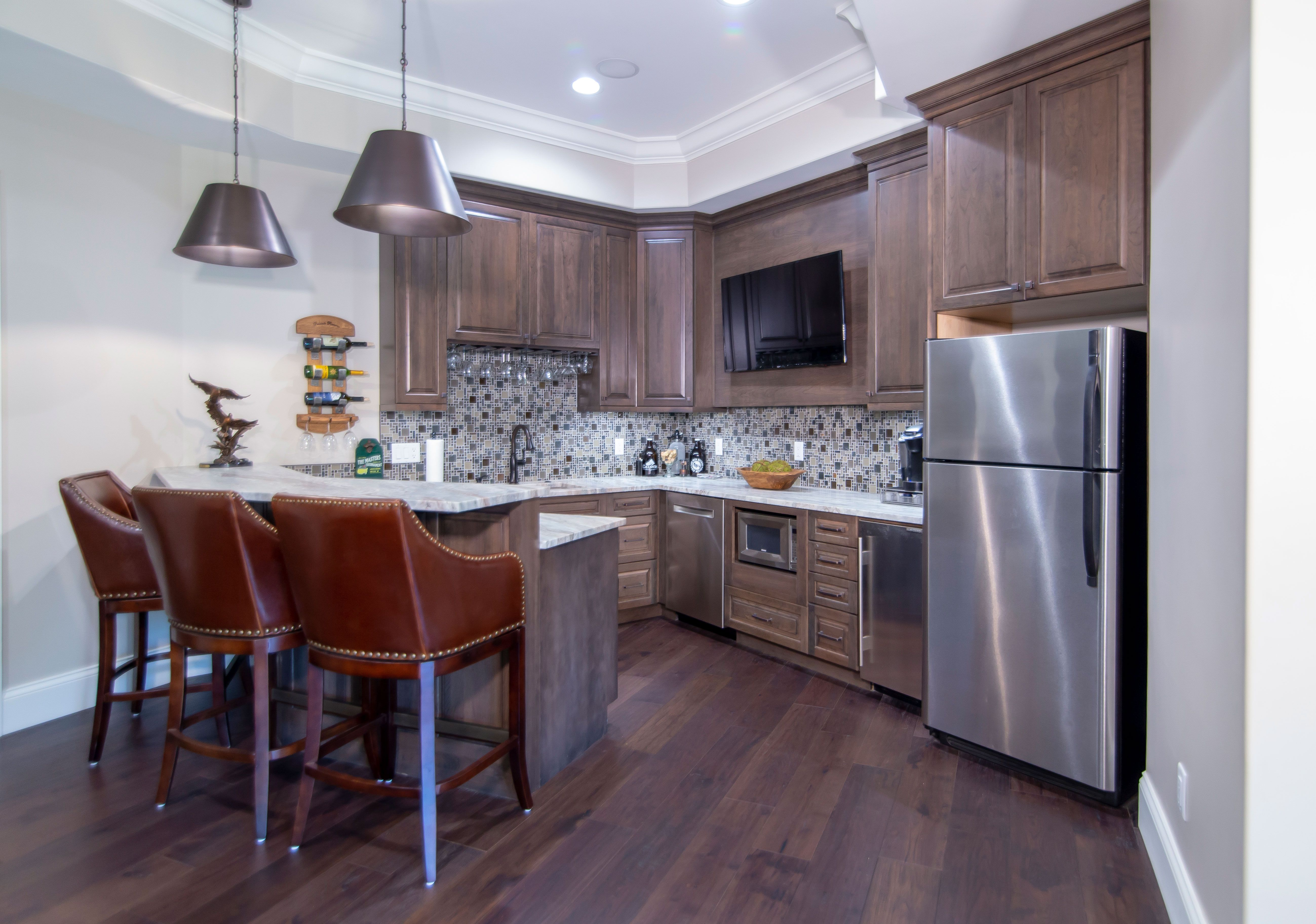 The Most Appealing Kitchen Cabinetry Designs Are Those That Reflect The Personal Pursuits And Kitchen Cabinetry Design Kitchen Cabinetry Small Basement Remodel