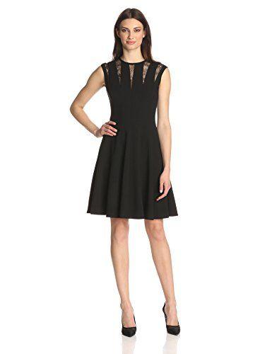 Calvin Klein Women's Fit and Flare Dress     #Calvin, #Dress, #Flare, #Klein, #Under25, #WomenS