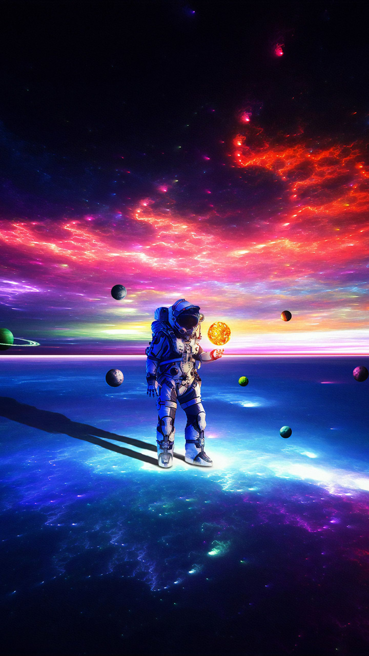 Lost Alone Astronaut Hd Wallpaper In 2020 Astronaut Wallpaper