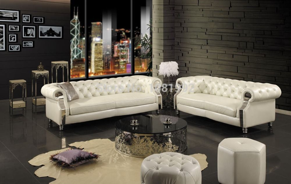 Beautiful Find More Living Room Sofas Information About High End European Leather Sofa  New Classical Solid Wood