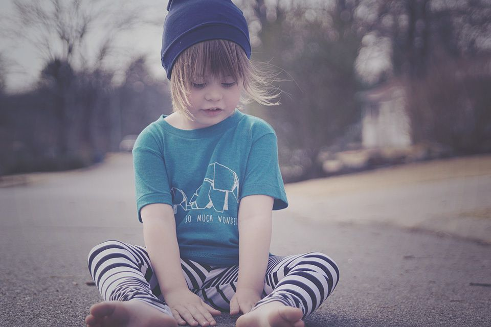 This is for your creative littles or just a plain ol' cool kid. Made on American Apparel Tri-blend Evergreen and Indigo.