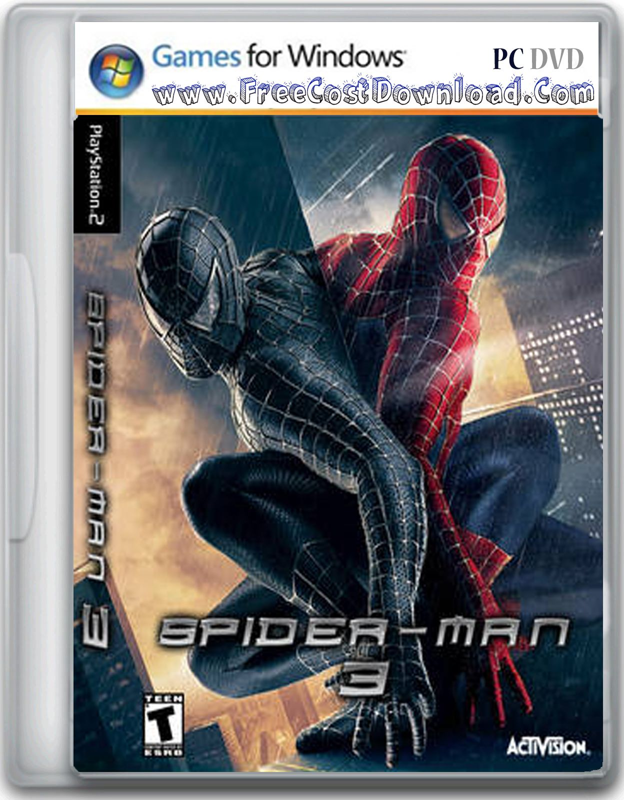 spider-man 3 is an action game loosely based on the spider-man 3