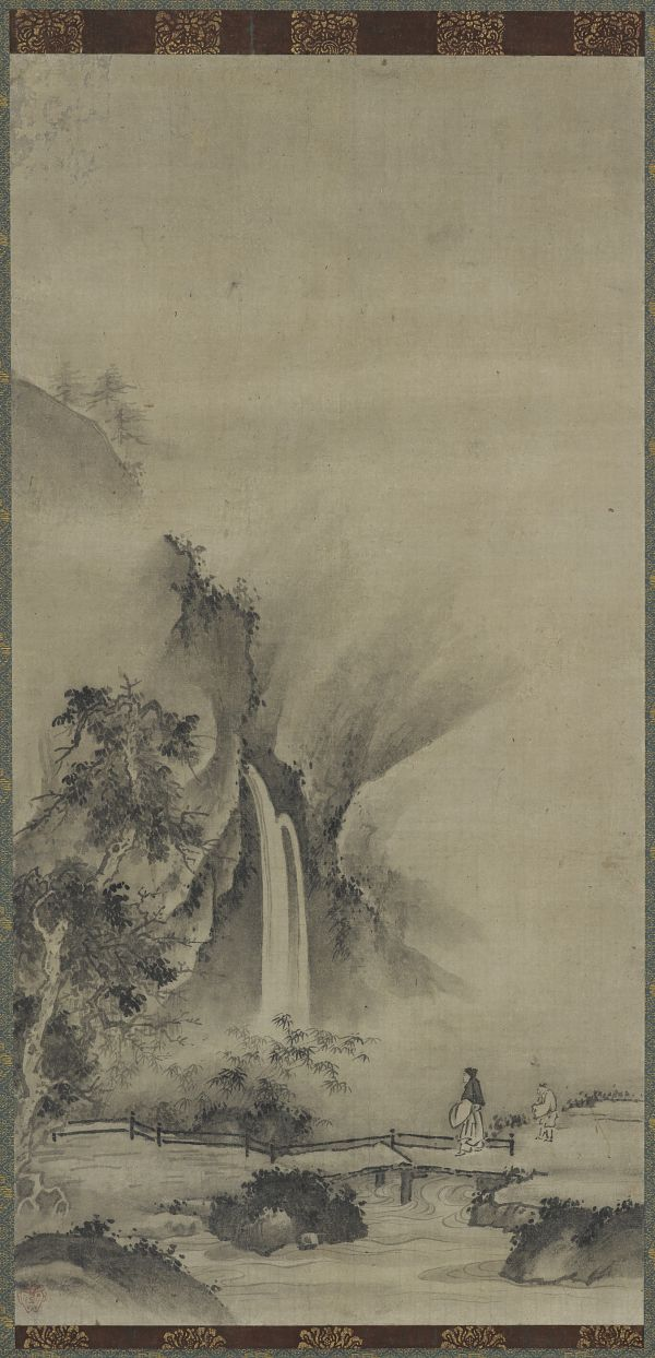 Landscape by kano motonobu 1476 1559 muromachi period 1392 the freer gallery of art and the arthur m sackler gallery are the smithsonians museums of asian art sciox Gallery