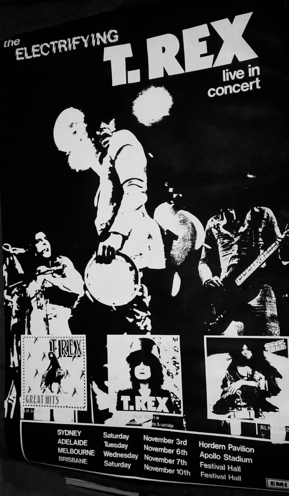 Vintage Music Posters Australia