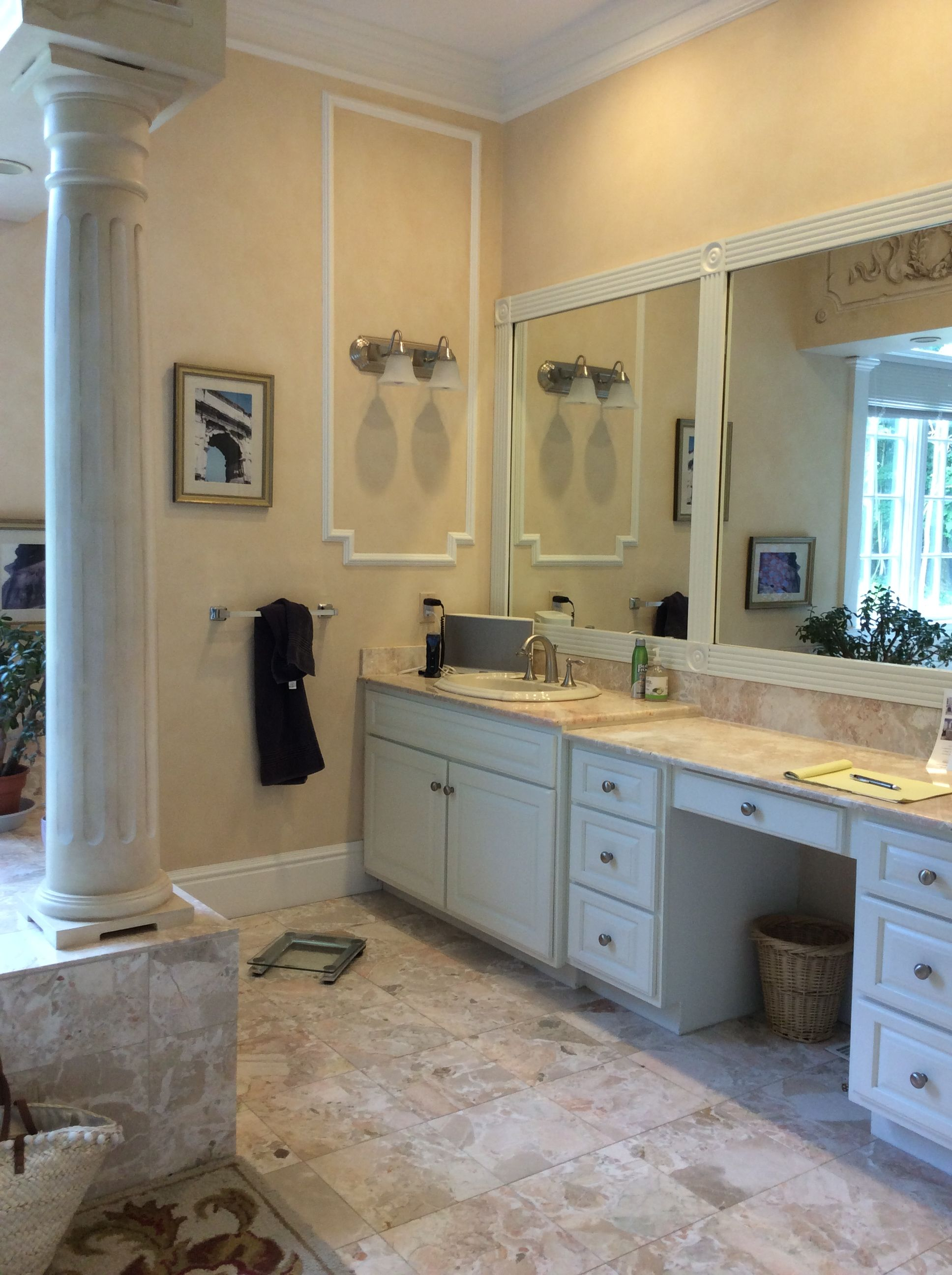 BEFORE: Opulent Master Bathroom transformation in ...