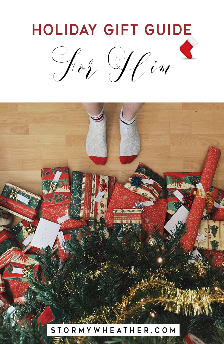 This gift guide is specifically catered towards the men in your life ...