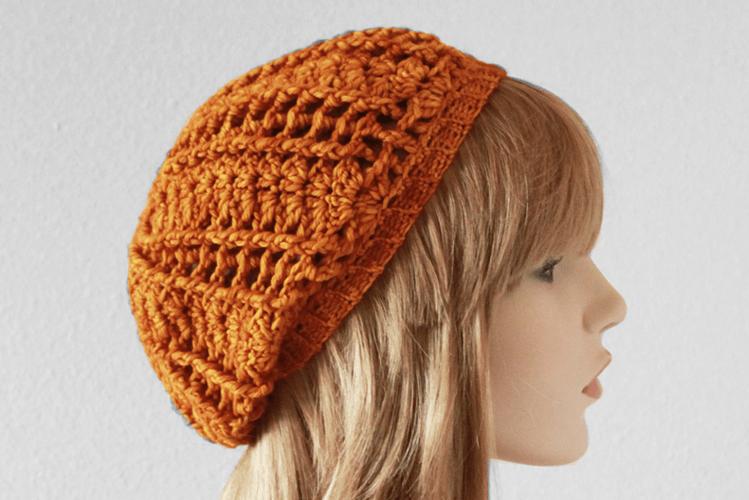 Shell Stitch Slouchy Beanie | FREE crochet pattern! | knitting and ...
