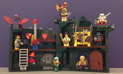 Lego MOC of the Week - Grayskull Interior by Hobbestimus