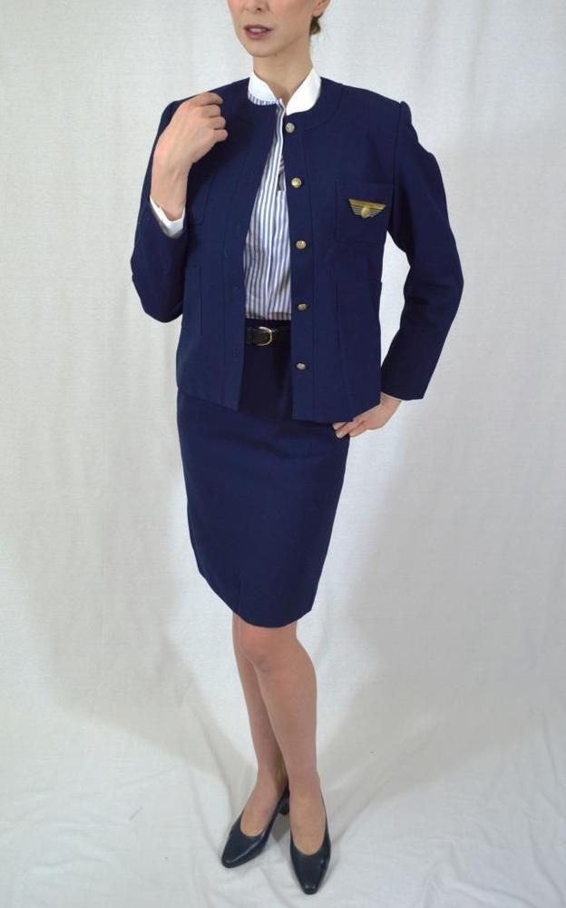 Vintage 80u0027S Air France Concorde Stewardess uniform flight - air france flight attendant sample resume