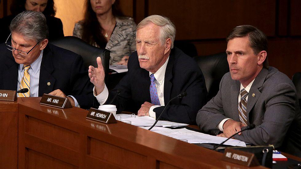 Sen King If Trump fires Mueller, Congress would pass veto-proof - proof of employment