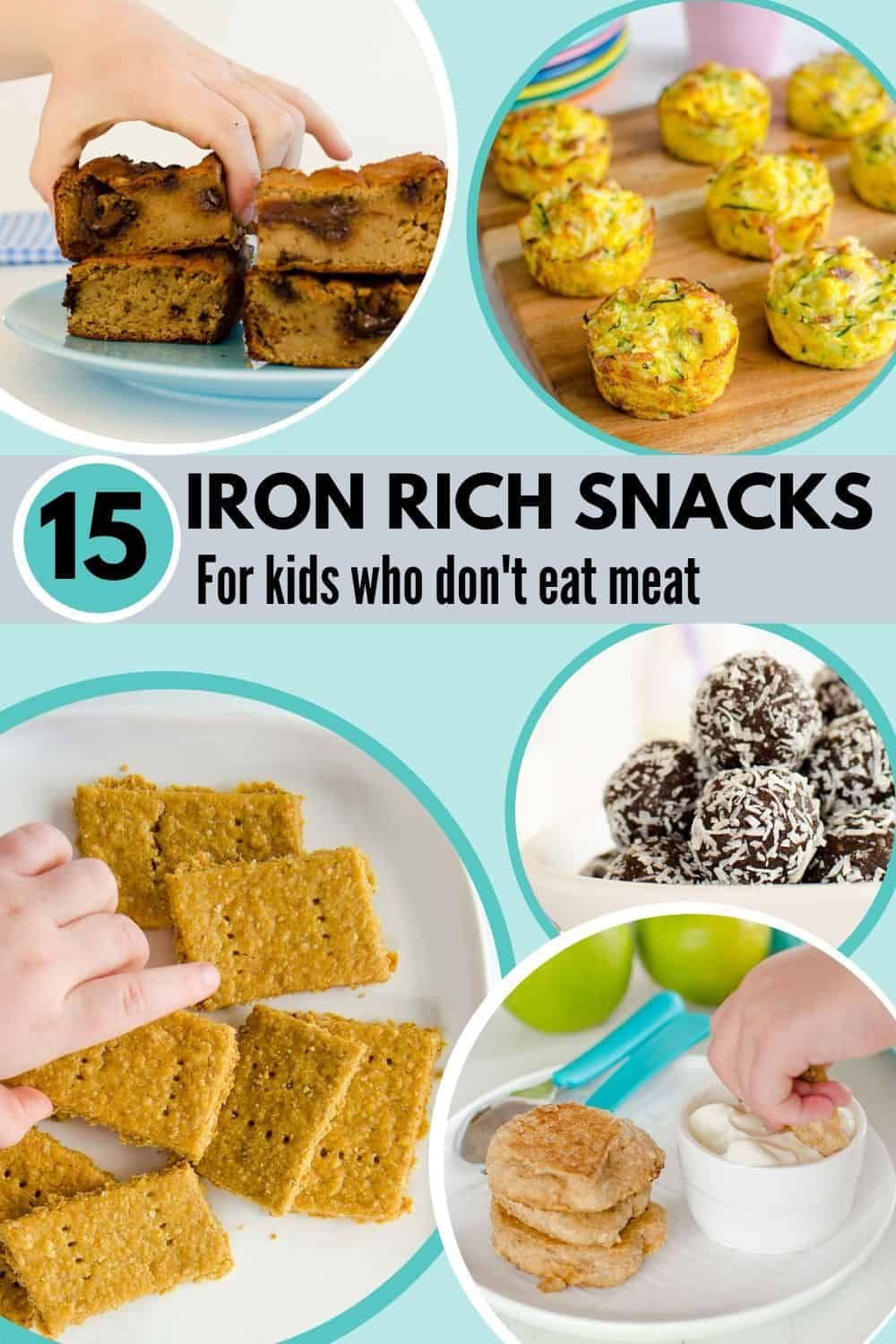 Iron Rich Recipes For Kids in 2020 Foods with iron, Good
