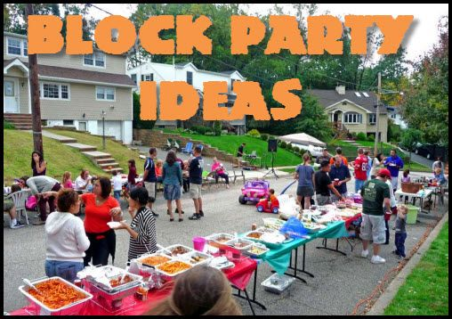 summer block party ideas
