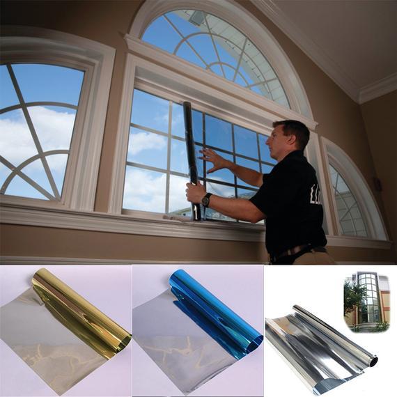 Description Reduce Glare Sun Block Effect Uv Proof Window Glass Translucent Impervious Movies Film Window Insulation Film Window Film Insulation Window Film
