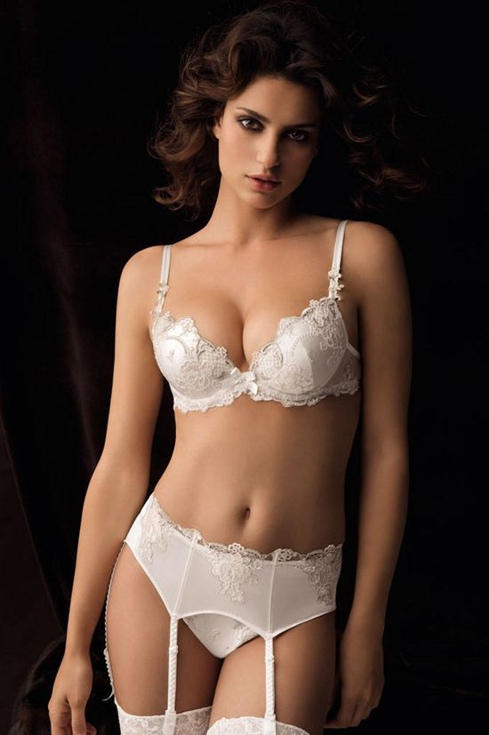 Lise Charmel 2011 Collection presented by model Catrinel Menghia (click pic  for more !) 642d820e1