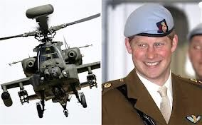 Prince Harry - Apache Helicopter Pilot