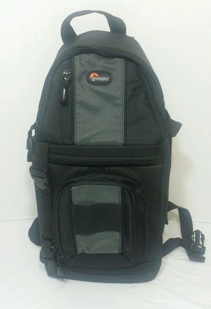 Lowepro Slingshot 100 Aw Profesional All Weather Camera Backpack Sling Bag Black Lowepro Interesting Cameras And Equipment Camera Backpack Bags Backpacks