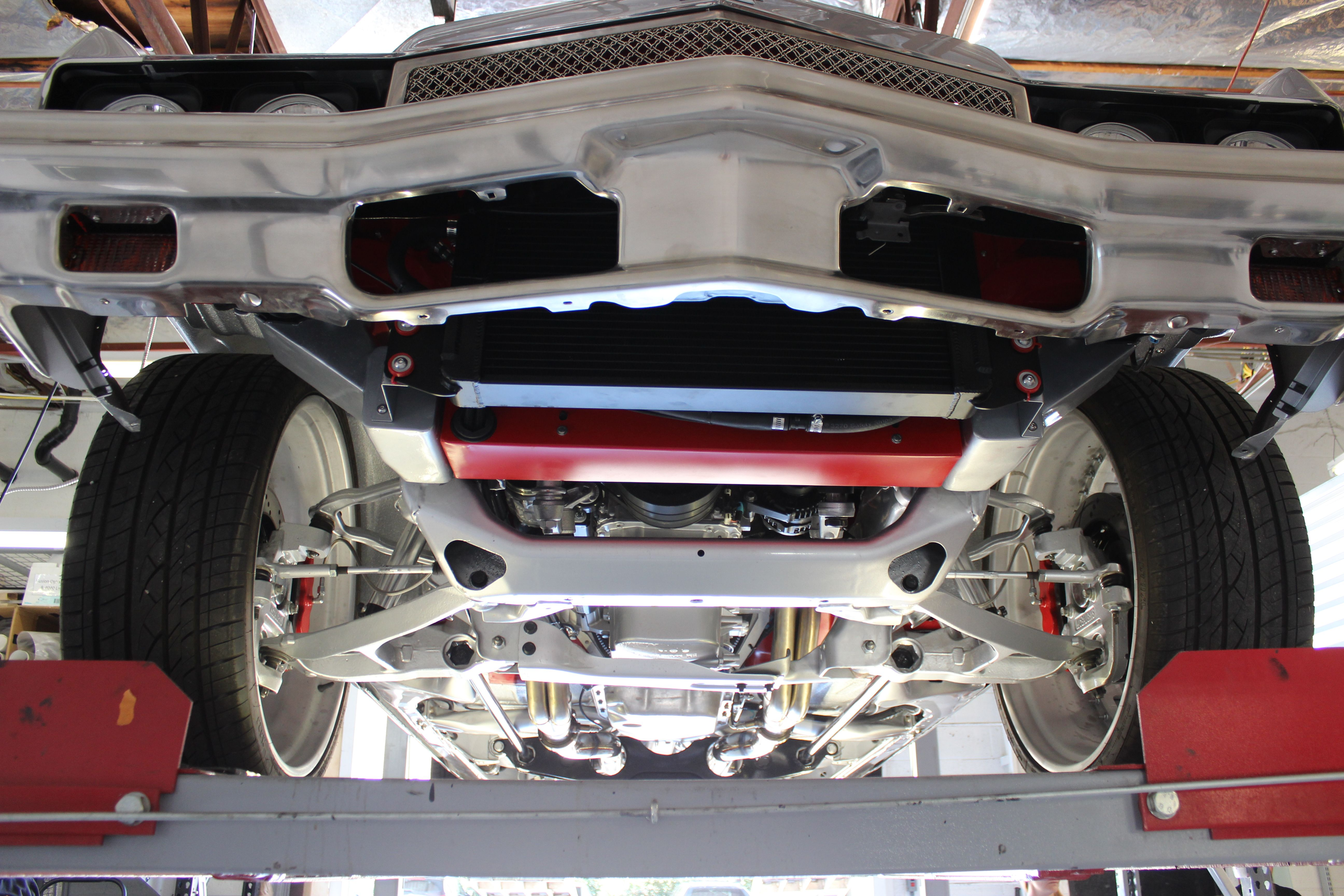 The Automotive Lift Light Kit by Inspired LED provides the