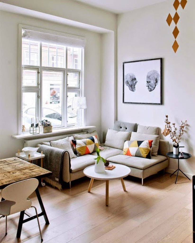 Gorgeous 40 Elegant Small Living Room Decor Ideas https://homstuff ...