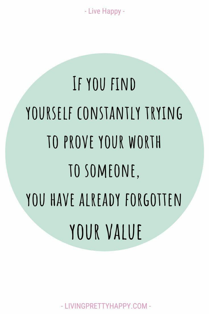 Understand your worth