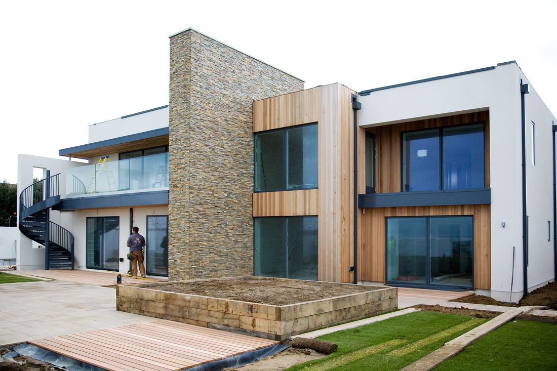 Exterior Stacked Stone Cladding - Norstone | Architecture ...