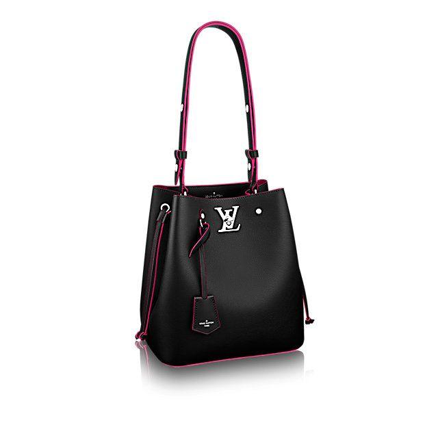 7e365c7f89bc0 Lockme Bucket Lockme in Women s Handbags collections by Louis Vuitton Handtasche  Umhängetasche