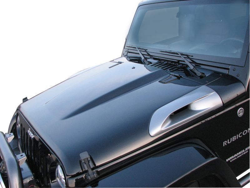 Truck Master Designs Cold Air Induction Hood Jeep Wrangler