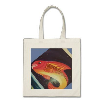 Colorful Fish Tote Bag Diy Cyo Customize Create Your Own Personalize
