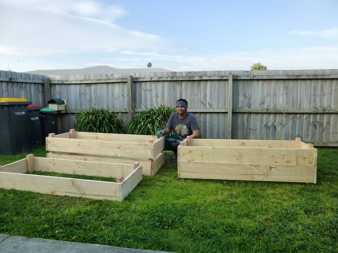 #building #installing #raised #garden #beds For Vegetables And Herbs  #Christchurch