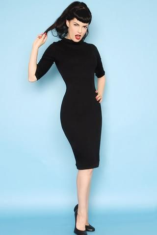 Super Spy Dress - Black