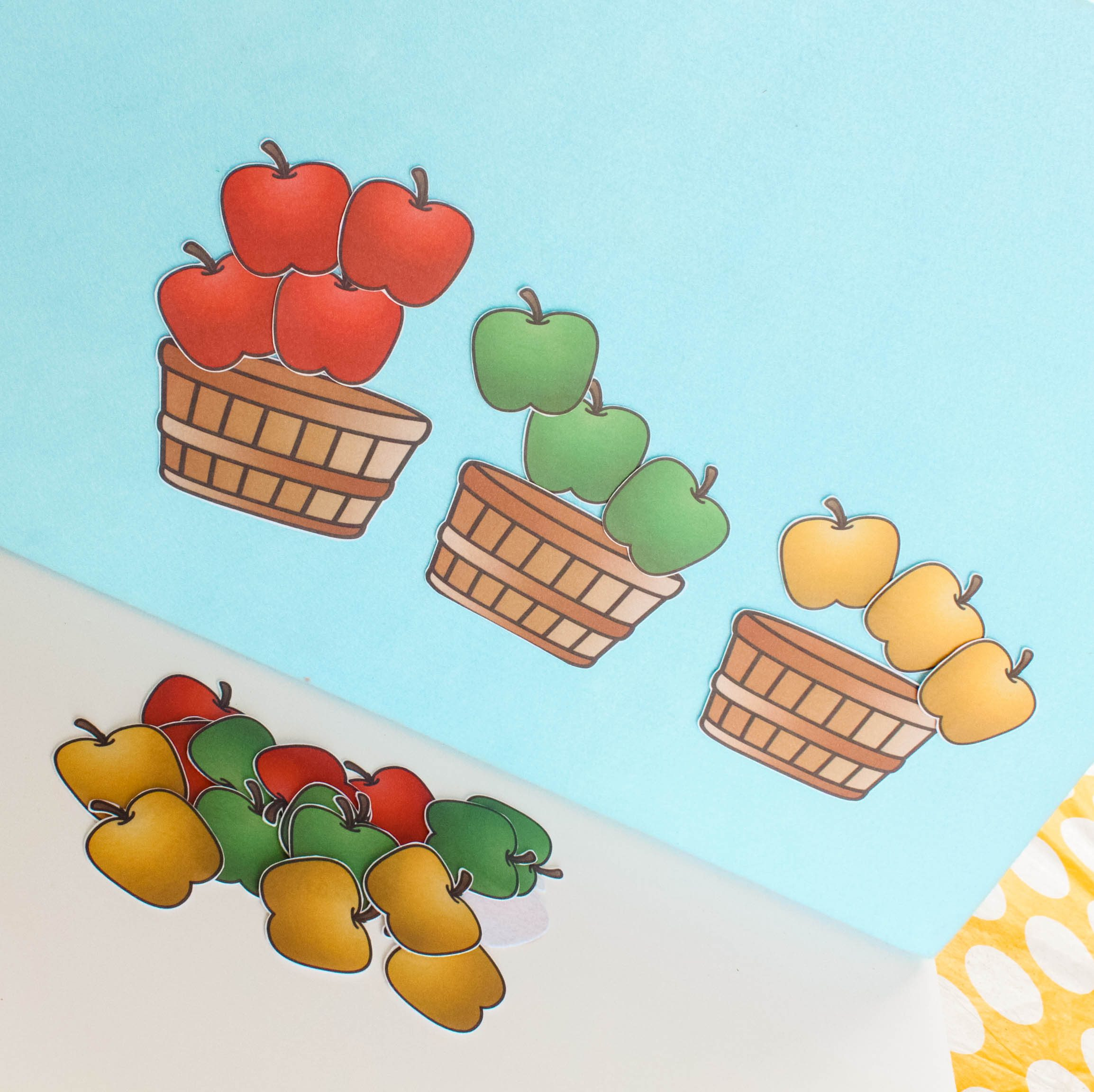 Apple Sorting Felt Board Activity Great Resource For