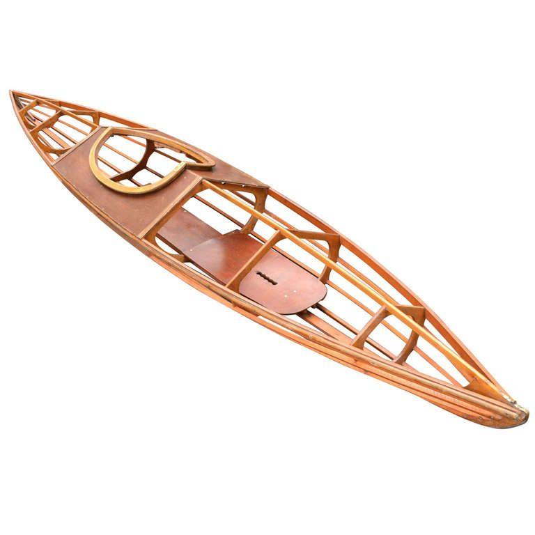 Large Skeleton Kayak, \