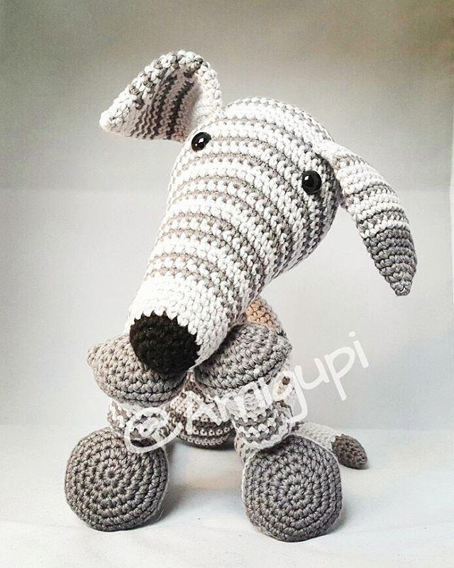Perfecto Patrón De Crochet Galgo Galería - Manta de Tejer Patrón de ...