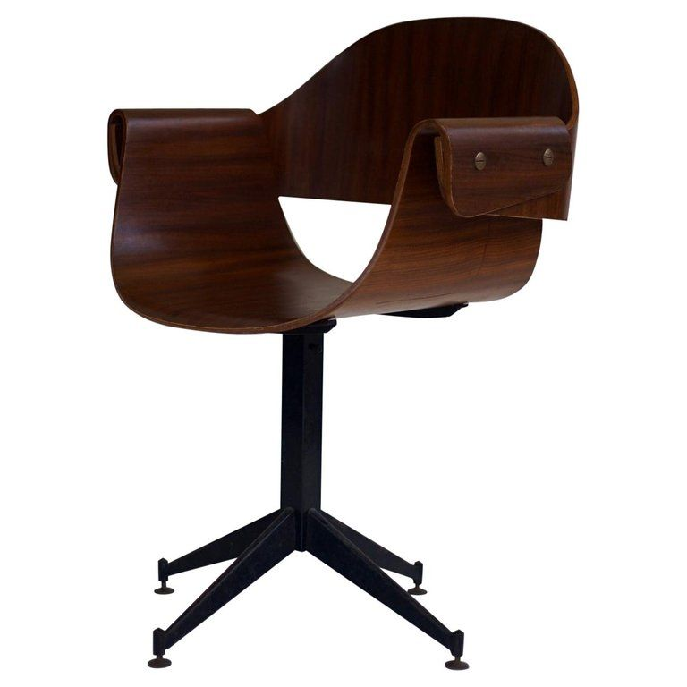 Surprising 1950S Bent Ply Desk Chair By Carlo Ratti Italy In 2019 Uwap Interior Chair Design Uwaporg