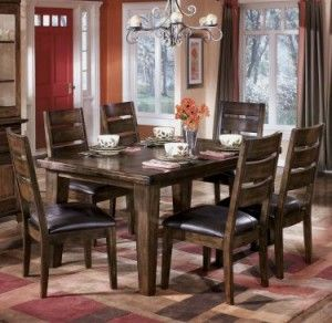 Room · Ashley Furniture U2013 Larchmont Rectangular Dining ...
